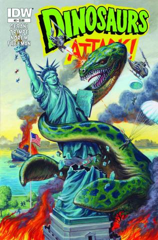 Dinosaurs Attack! #2