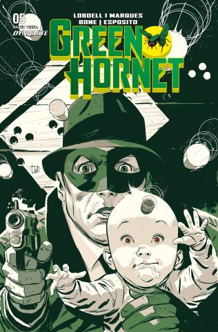 Green Hornet #5 (Weeks Cover)