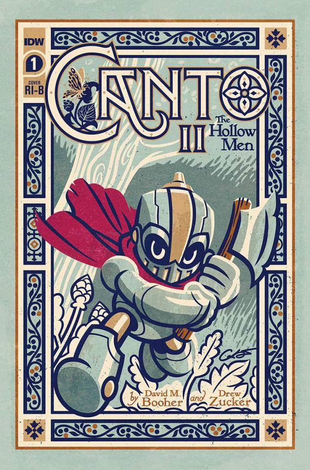Canto II: The Hollow Men #1 (25 Copy Caltsoudas Cover)