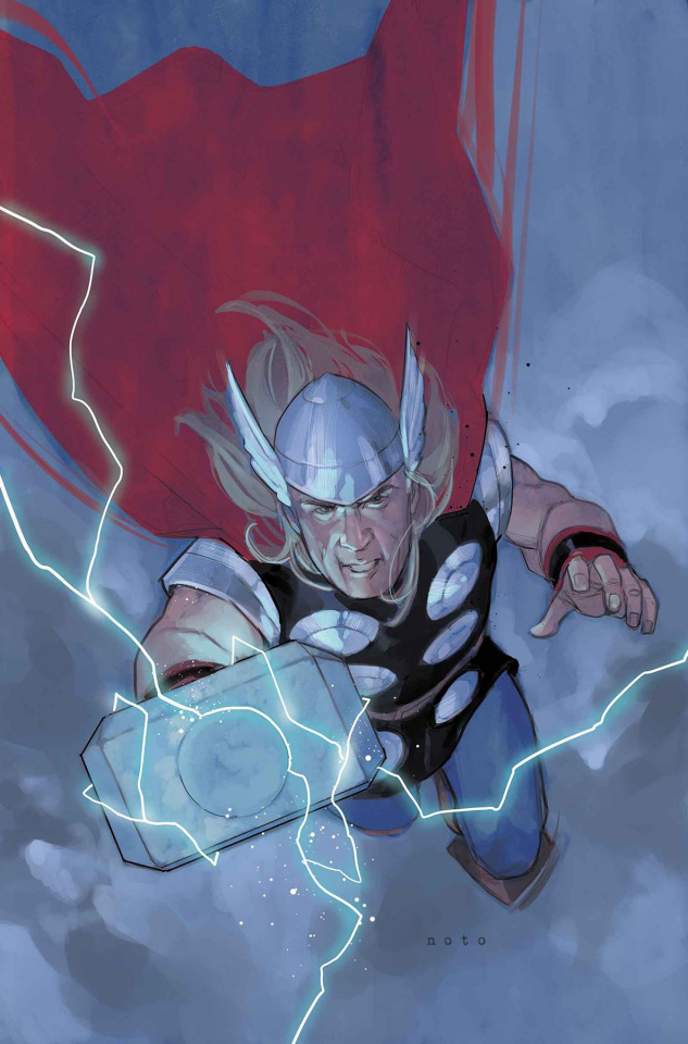 The Unworthy Thor #4 (Noto Cover)