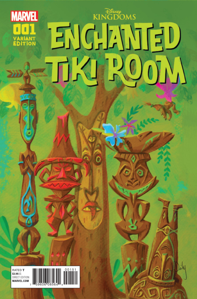 Enchanted Tiki Room #1 (Jody Daily Cover)