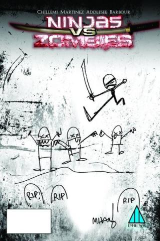 Ninjas vs. Zombies #3