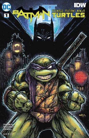 Batman / Teenage Mutant Ninja Turtles II #1 (Variant Cover)