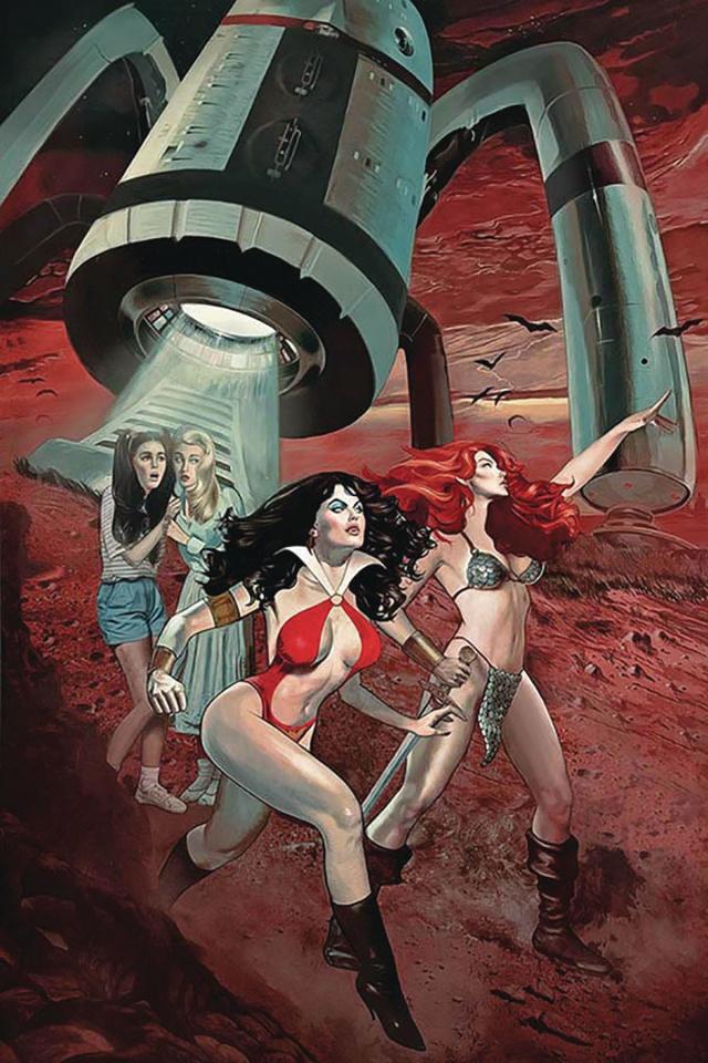 Red Sonja and Vampirella Meet Betty and Veronica #8 (Dalton Virgin Cover)