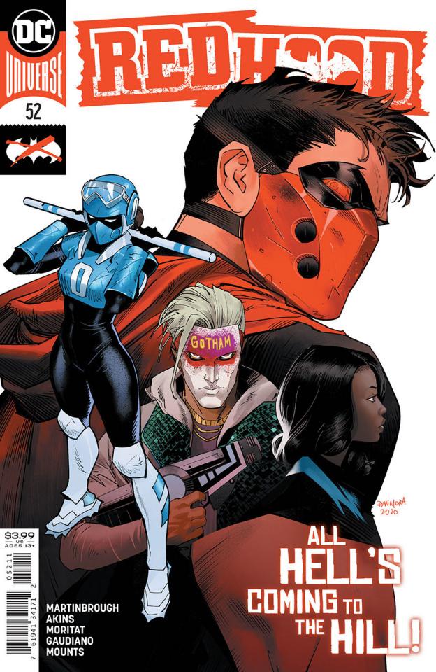 Red Hood #52 (Dan Mora Cover)