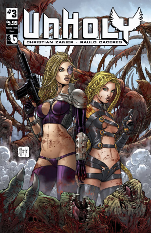 UnHoly #3 (Femme Fatales Cover)