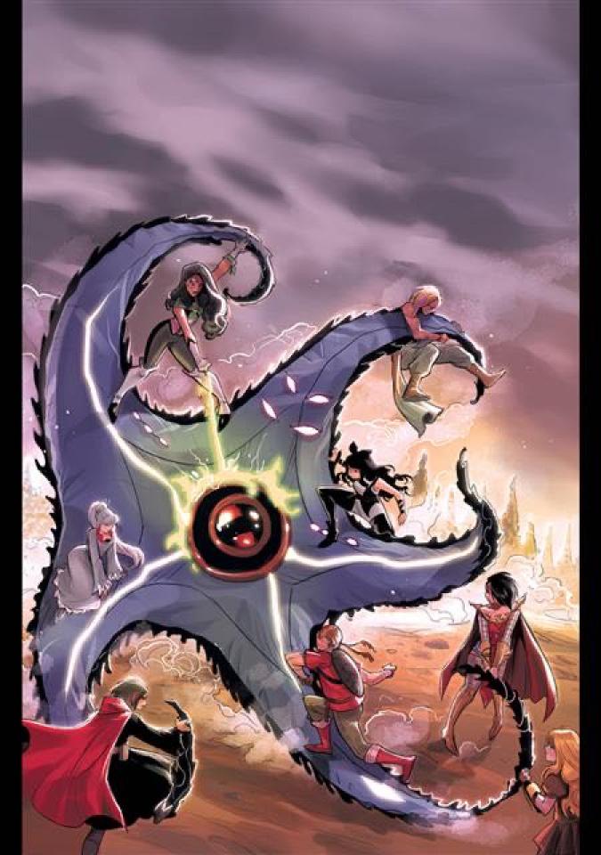 RWBY / Justice League #6 (Mirka Andolfo Cover)