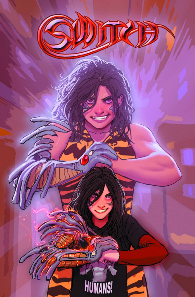 Switch #1 (Sejic Cover)
