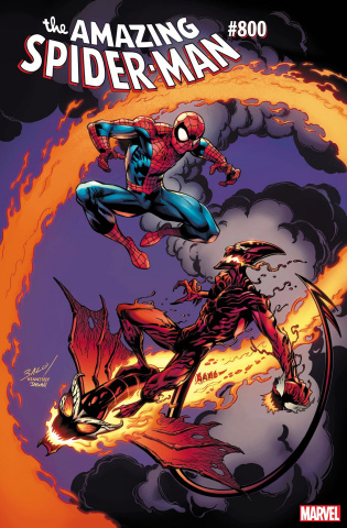 The Amazing Spider-Man #800 (Bagley Cover)