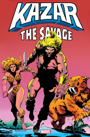 Ka-Zar the Savage (Omnibus Anderson First Issue Cover)