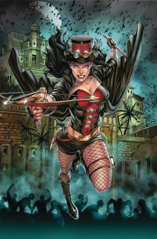 Van Helsing: The Sword of Heaven #4 (Vitorino Cover)