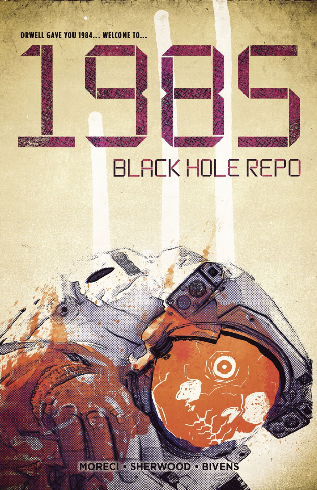 1985: Black Hole Repo #1 (Bivens Cover)