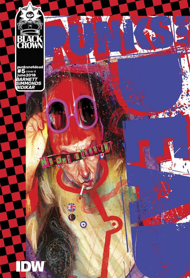 Punk's Not Dead #5 (Simmonds Cover)