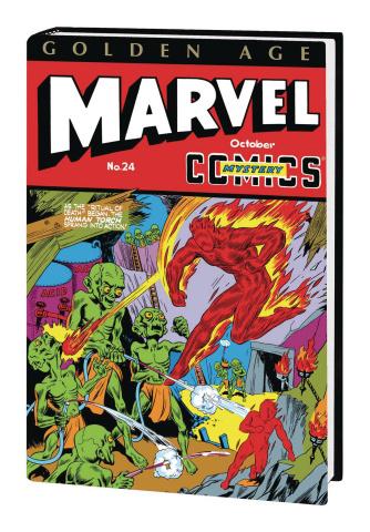 Golden Age Marvel Comics Vol. 2 (Schomburg Omnibus)