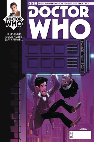 Doctor Who: New Adventures with the Eleventh Doctor, Year Two #12 (Myers Cover)