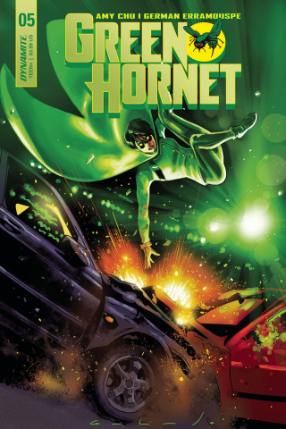 Green Hornet #5 (Galindo Cover)
