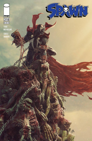 Spawn #318 (Barends Cover)