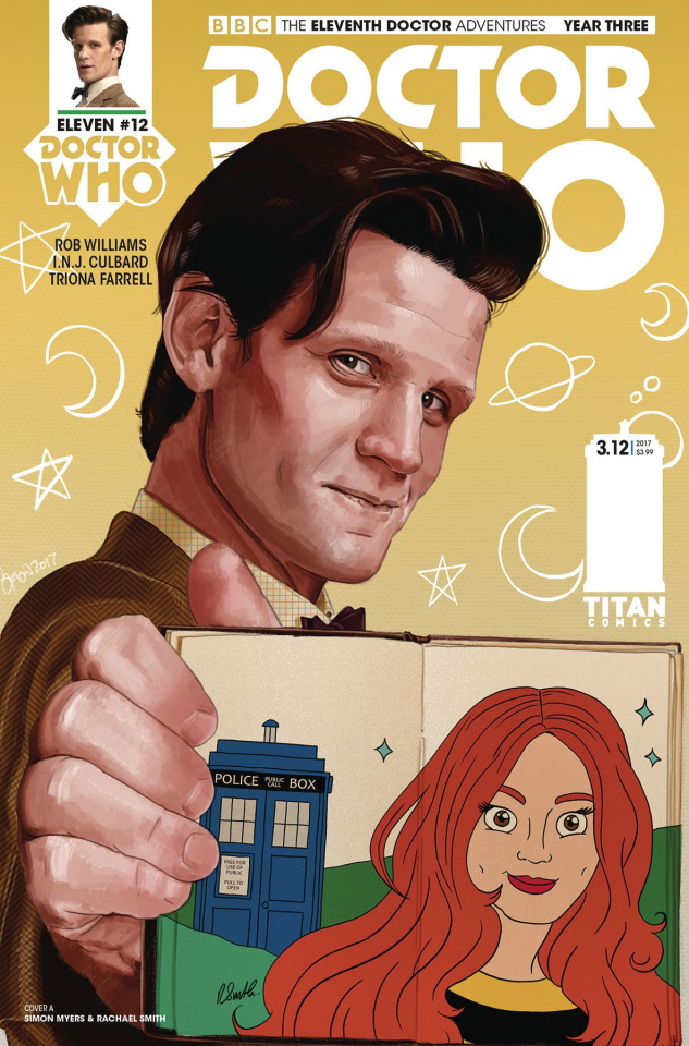 Doctor Who: New Adventures with the Eleventh Doctor, Year Three #12 (Myers & Smith Cover)