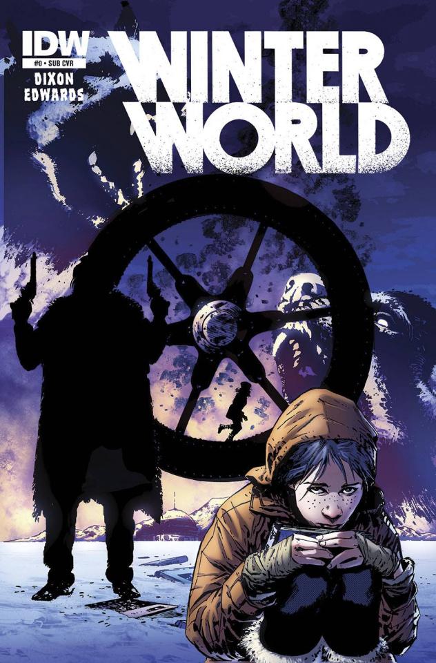 Winterworld #0 (Subscription Cover)