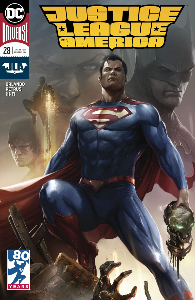 Justice League of America #28 (Variant Cover)