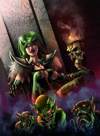 Grimm Universe #3 (Qualano Cover)