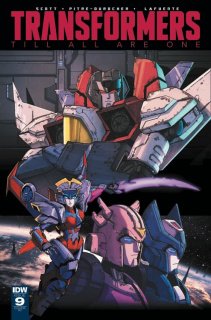 The Transformers: Till All Are One #9 (10 Copy Cover)