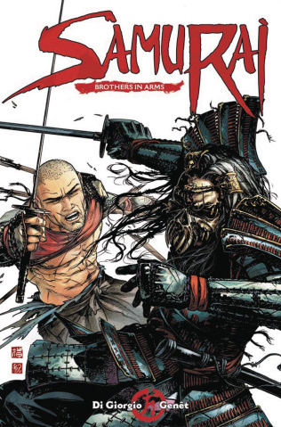 Samurai: Brothers in Arms #1 (Genet Cover)