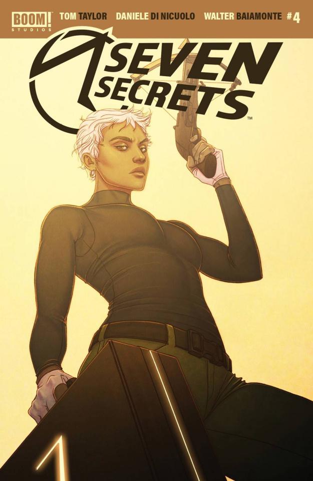 Seven Secrets #4 (Frison Cover)