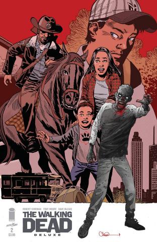 The Walking Dead Deluxe #2 (Adlard & McCaig Cover)