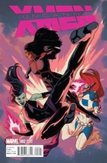 Uncanny X-Men #2 (Anka Cover)