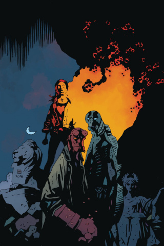 B.P.R.D.: The Devil You Know #11 (Mignola Cover)