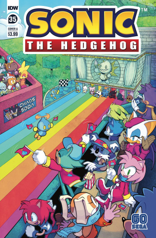 Sonic the Hedgehog #35 (Hammerstrom Cover)