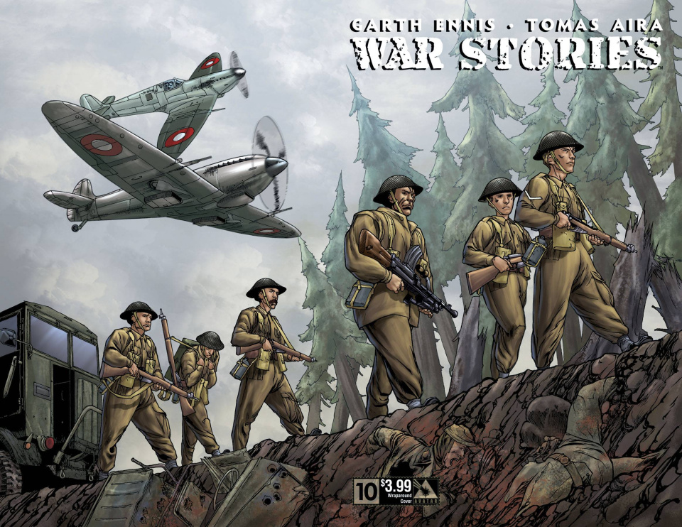 War Stories #10 (Wrap Cover)