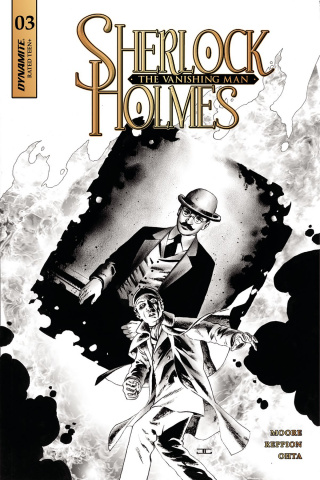 Sherlock Holmes: The Vanishing Man #3 (20 Copy Cassaday B&W Cover)