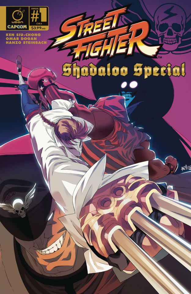 Street Fighter: Shadaloo Special (Steinbach Cover)
