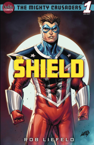 Mighty Crusaders: The Shield (Rob Liefeld Cover)