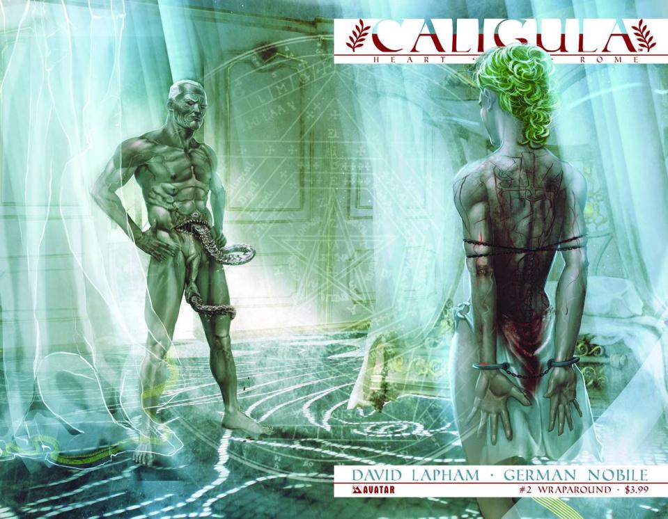 Caligula: Heart of Rome #2 (Wrap Cover)