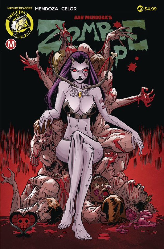 Zombie Tramp #49 (Celor Cover)