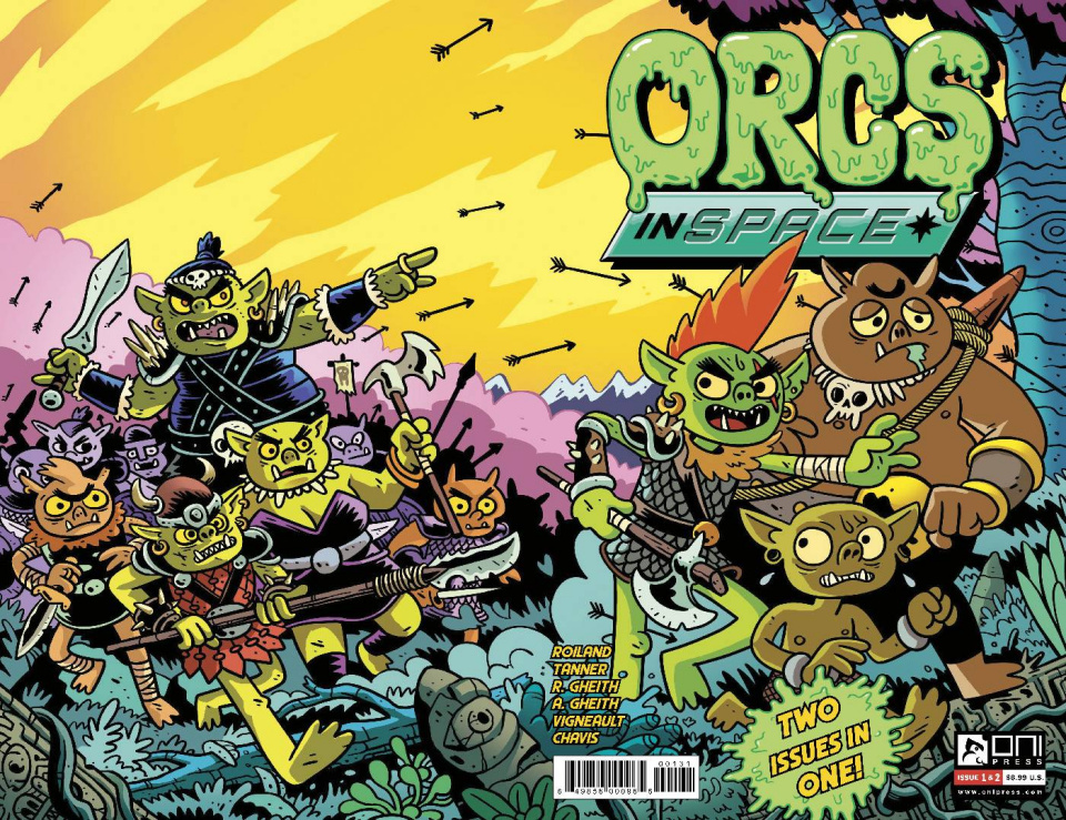 Orcs In Space 2-in-1 (10 Copy Cover)