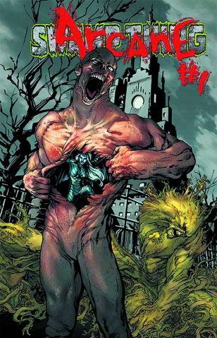 Swamp Thing #23.1: Arcane Standard Cover