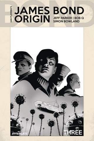 James Bond: Origin #3 (10 Copy Cassaday B&W Cover)