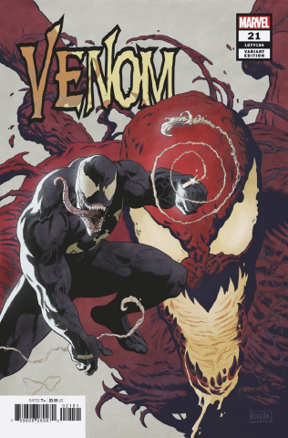 Venom #21 (Rivera Cover)