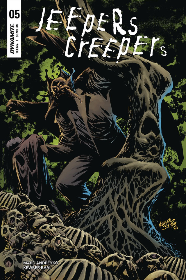 Jeepers Creepers #5 (Jones Cover)