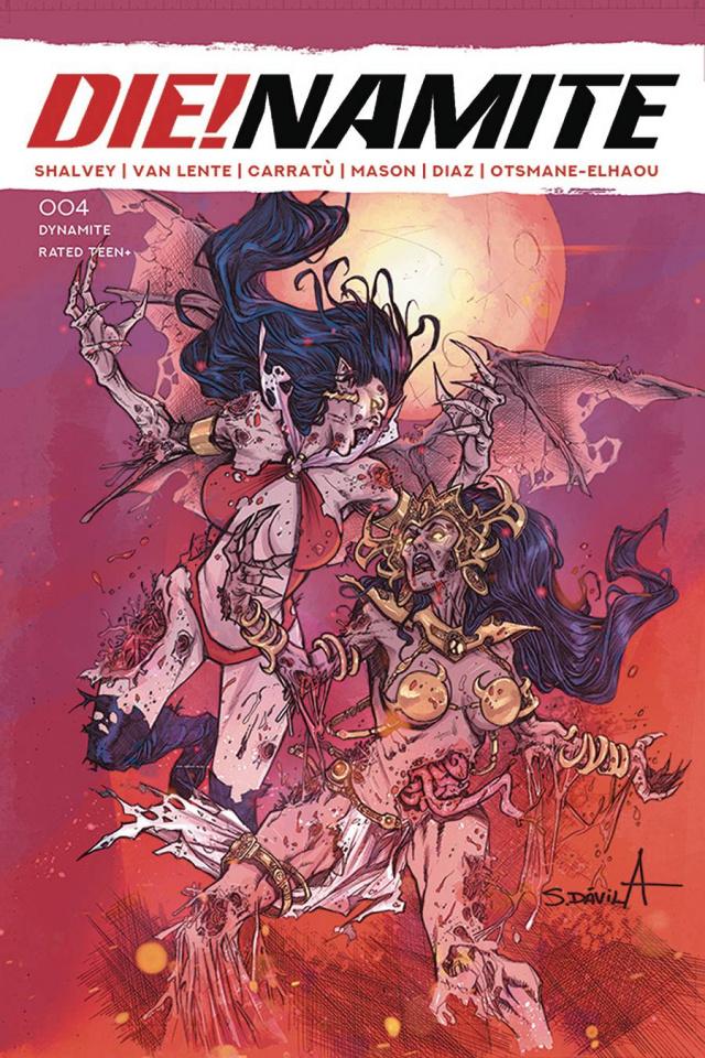 DIE!namite #4 (10 Copy Davila Zombie Cover)