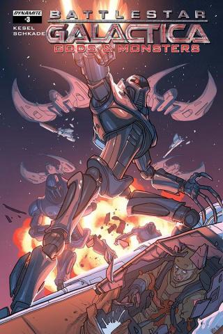 Battlestar Galactica: Gods & Monsters #3 (Woods Cover)