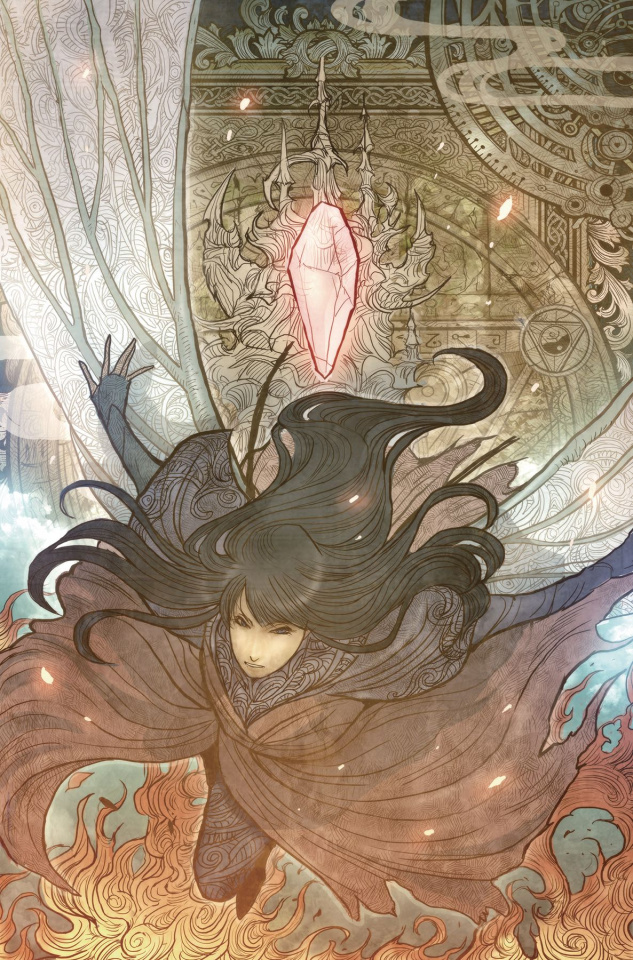 The Power of the Dark Crystal #9 (Subscription Tak Cover)