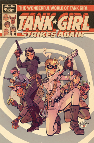 The Wonderful World of Tank Girl #1 (Parson Cover)