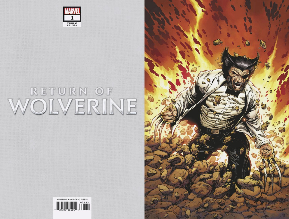 Return of Wolverine #1 (McNiven Patch Costume Virgin Cover)