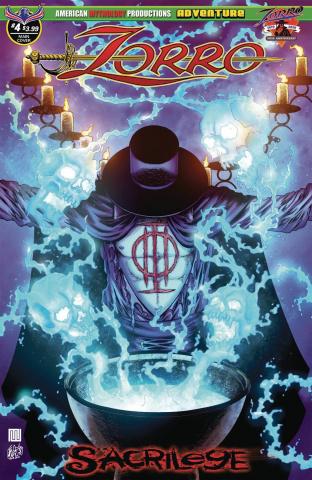 Zorro: Sacrilege #4 (Wolfer Cover)