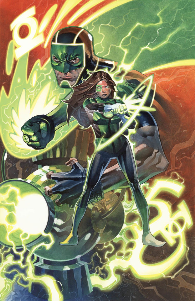 Green Lanterns #50 (Variant Cover)